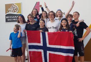 Stor delegasjon fra ÅS til Oman og Mussanah Race Week