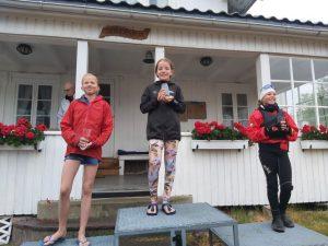 Førsteplass til Nela i hennes første Norgescup!