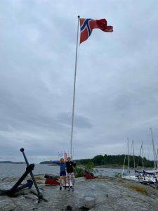 Pia og Nela klar til dag 2 NC Tønsberg 2020