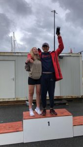 Andrè Fugledal og Ingrid Giske Søvik