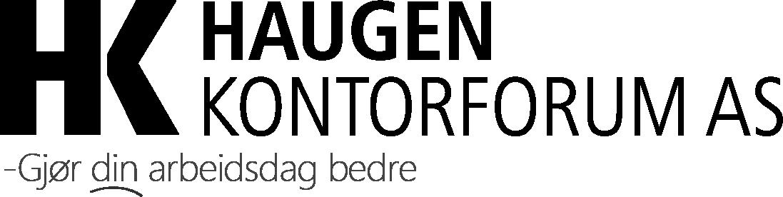 Logo med slagord