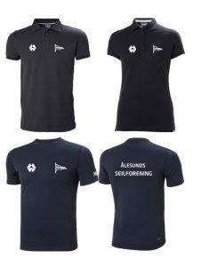 T skjorter til salgs.