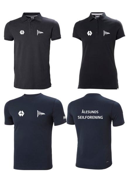 Flotte T-skjorter og Pique-skjorter til salgs.