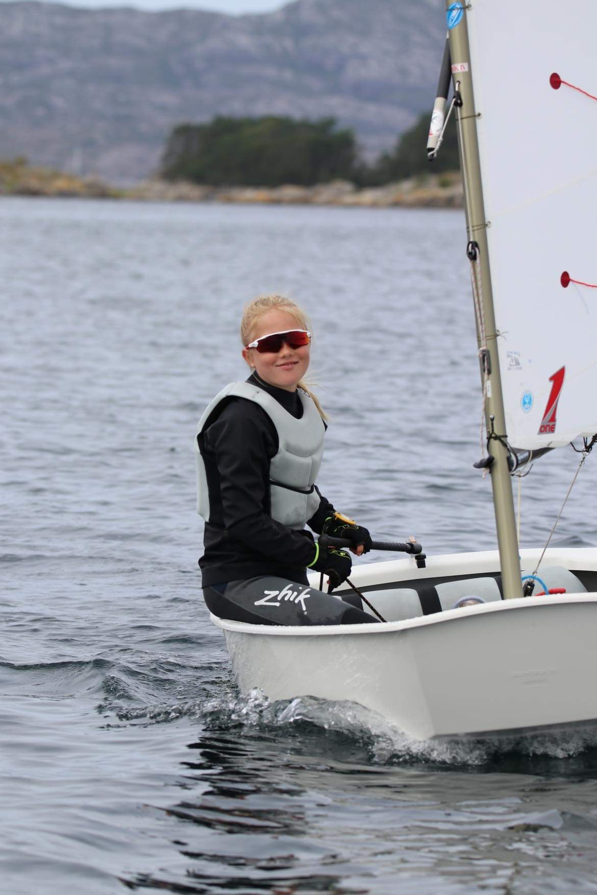 Norgesmesterskap Optimist 2021 i Bergen.